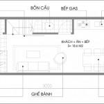 Tư vấn thiết kế nhà phố diện tích nhỏ 3,5×9,2m
