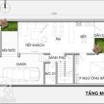 Tư vấn thiết kế nhà diện tích 8×13,5m – 3 tầng