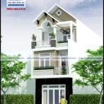 Mẫu nhà phố mặt tiền 5m – 3 tầng