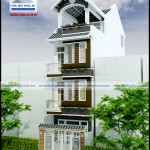 Mẫu nhà phố mặt tiền 4 m – 3,5 tầng
