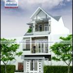 Mẫu nhà phố mặt tiền 6m – 3 tầng