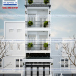 Mẫu thiết kế nhà phố đẹp 4,2mx15,7m