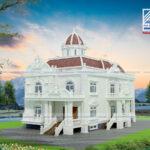 Mẫu thiết kế biệt thự cổ điển đẹp 2020